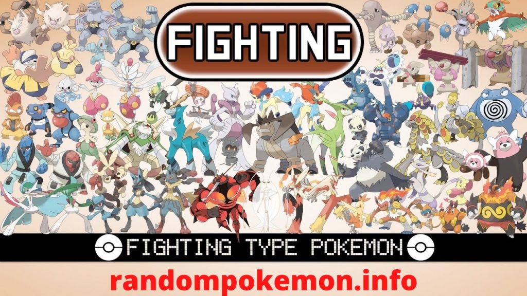 Fighting Type Pokemon