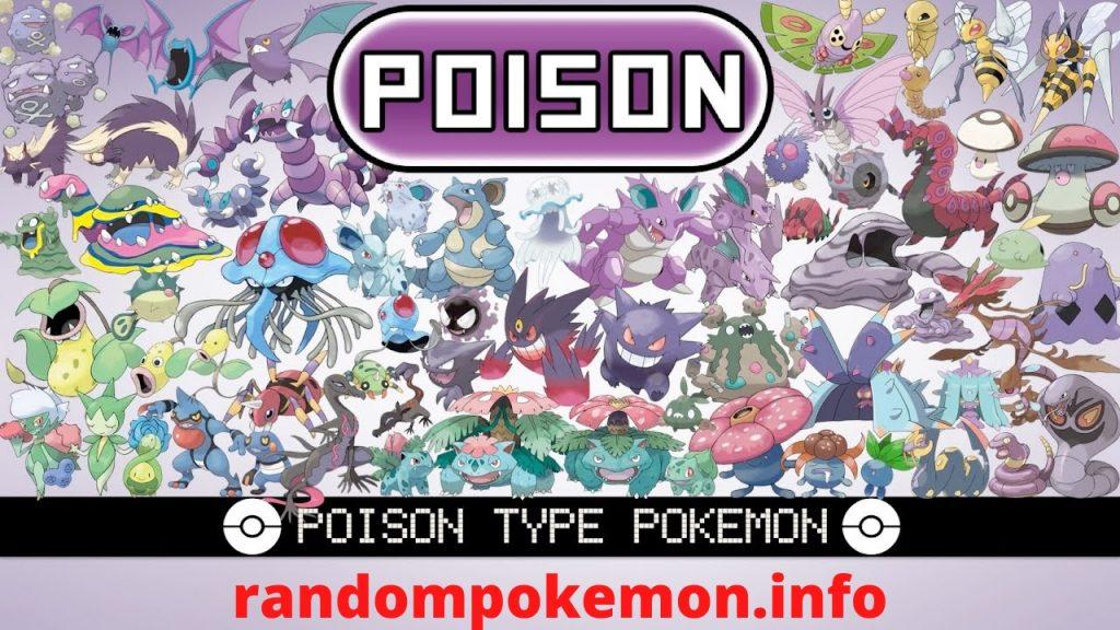 Poison Type Pokemon