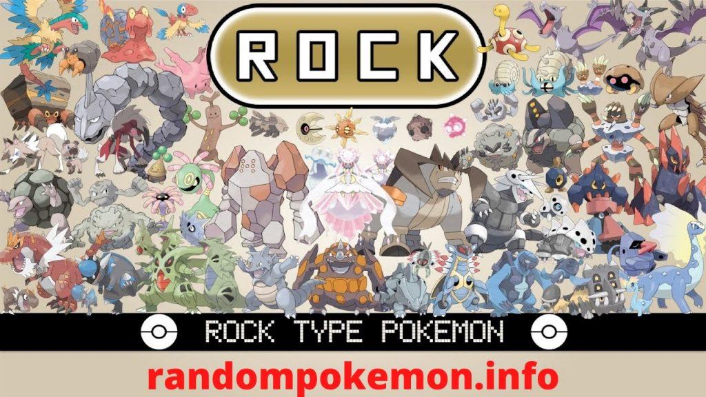 rock type pokemon