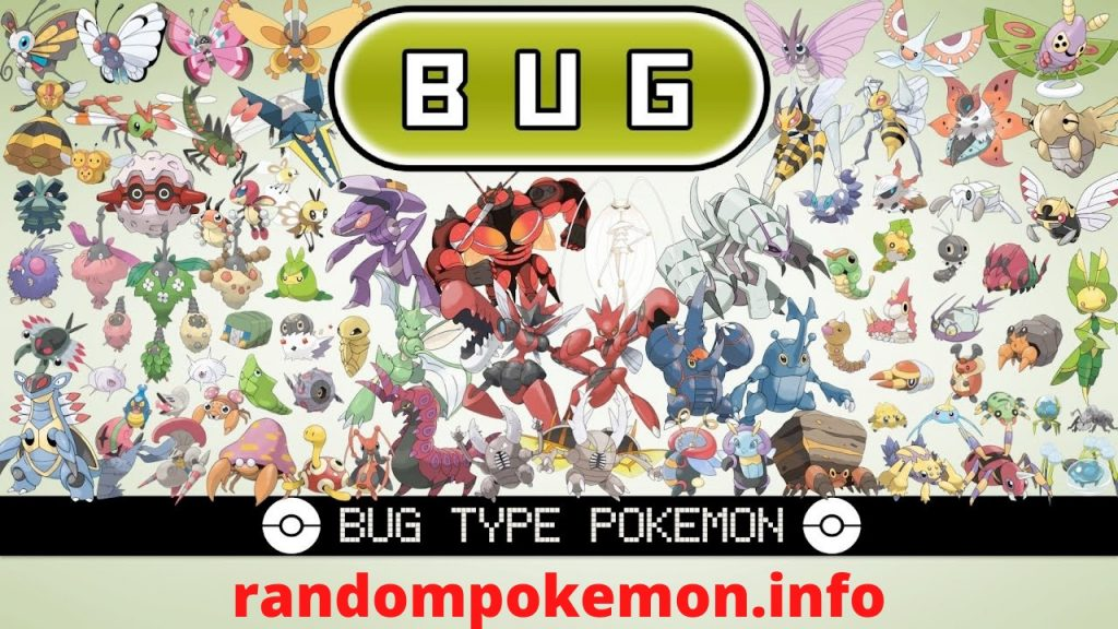 Bug Type Pokemon