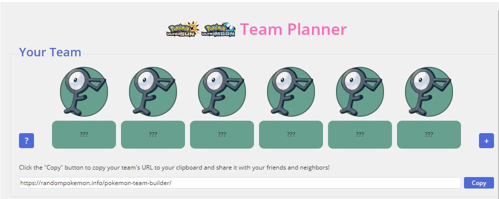 pokemon team builder